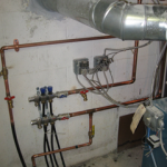 The radiant heating system has been updated